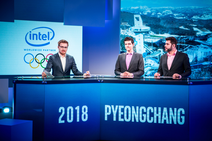 The Intel Extreme Masters Pyeongchang event. Image Credit: ESL/Intel